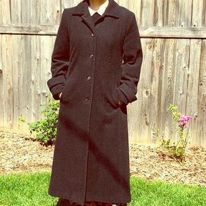 J.G. Hook Full Length Vintage Wool Coat